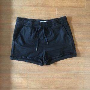 Current Eilliott Black Drawstring Lounge Shorts